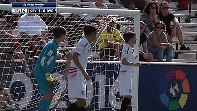 Fútbol - XX Torneo Internacional LaLiga Promises Sub-12. Miami 2015: 1/4 Final Sevilla-Borussia Dortmund - Ver ahora