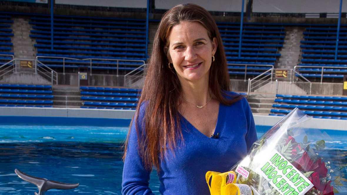 Samantha Valleo-Nágera, la mujer que hablaba con los delfines