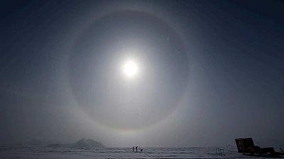 El agujero de la capa de ozono en la Antártida alcanza una extensión récord en diciembre