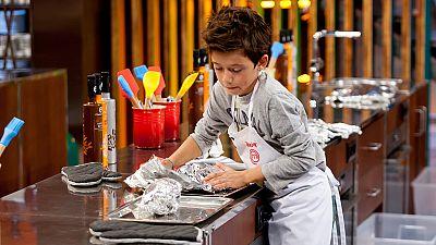 MasterChef Junior 3 - Lukas muestra una actitud ejemplar