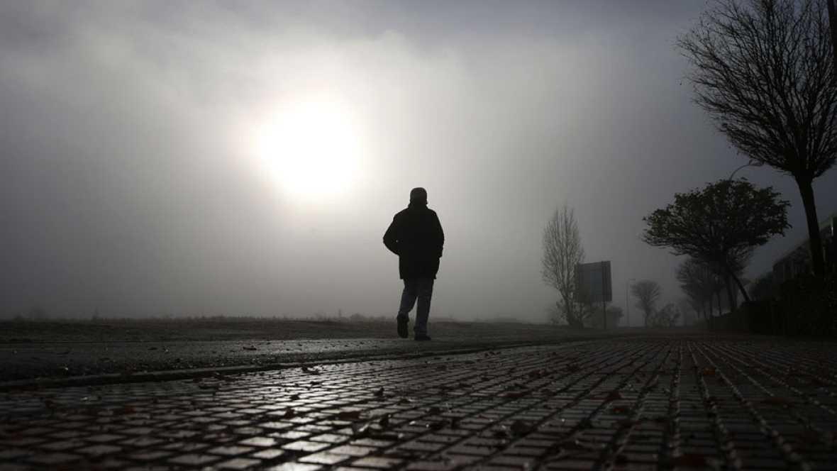 Cielo poco nuboso en el área mediterránea y lluvia débil en Valencia