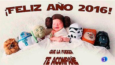 Nochevieja galáctica: 'Star Wars' triunfa en las redes sociales