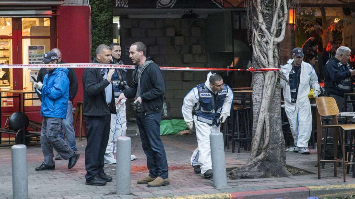 Dos muertos y siete heridos en Tel Aviv