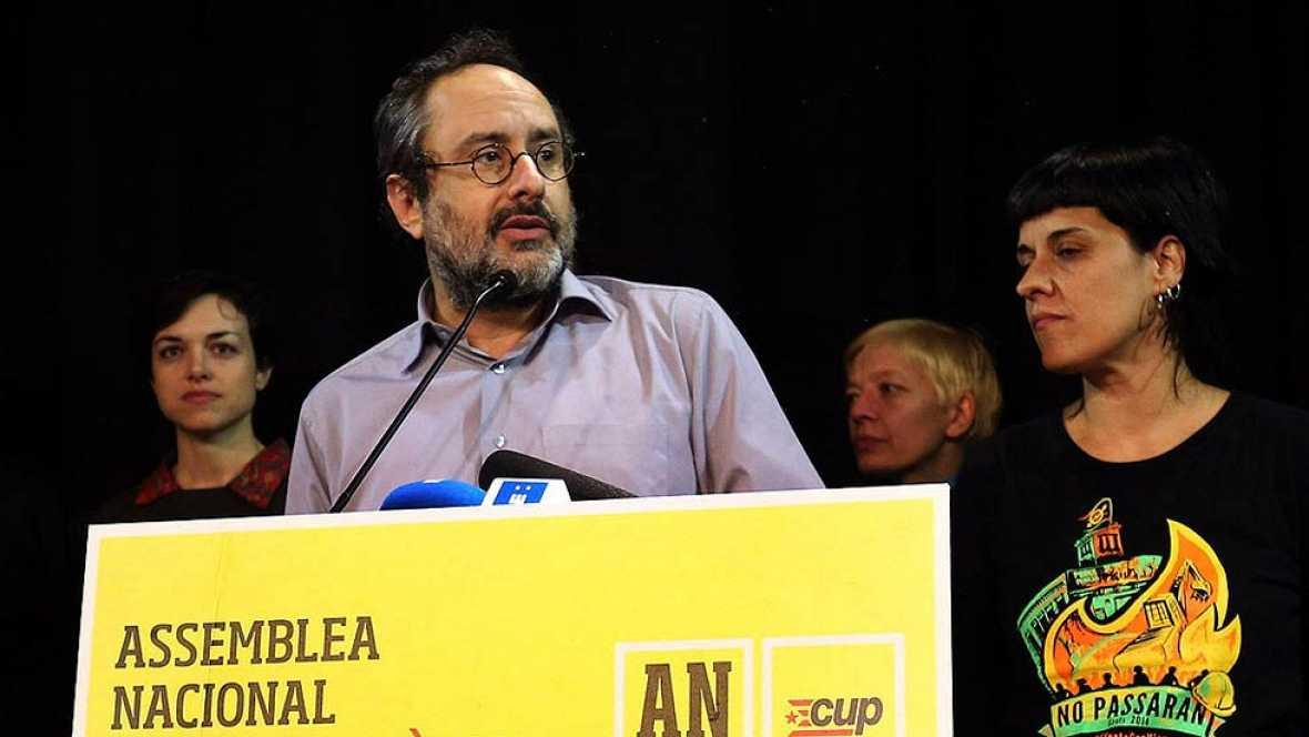 La dirección de la CUP decide este domingo si apoya la investidura de Mas