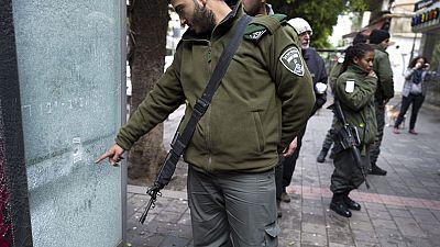 Despliegue antiterrorista a gran escala en Tel Aviv