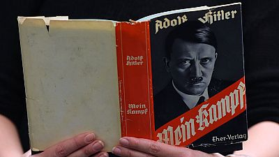 'Mein Kampf', el libro escrito por Hitler, libre de derechos de autor