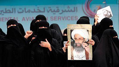Protestas tras la ejecución en Arabia de un importante clérigio chií