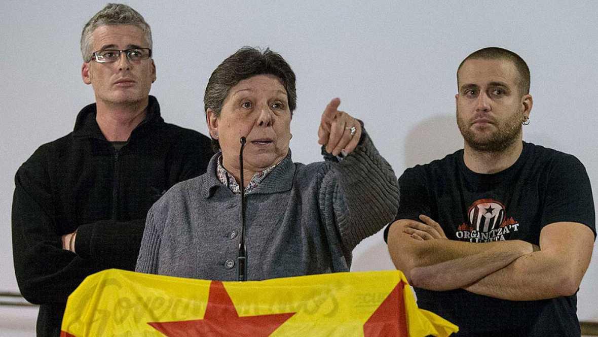 La CUP rechaza investir a Artur Mas como presidente de la Generalitat