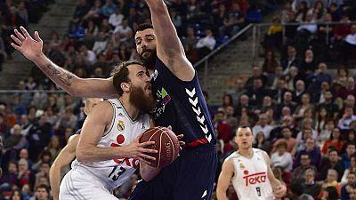 Baloncesto - Liga ACB. 14� jornada: Laboral Kutxa Baskonia - Real Madrid - ver ahora
