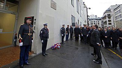 Francia rinde tributo a las víctimas de los atentados de enero de 2015