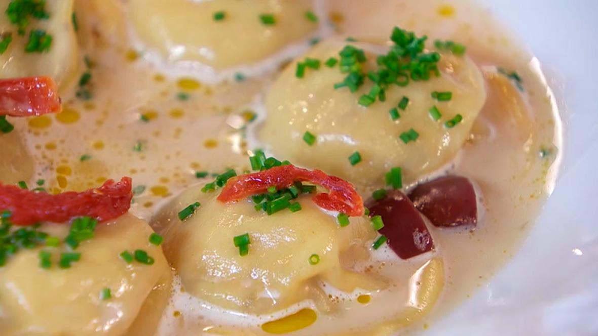 Torres en la cocina - Receta de raviolis de foie y castaña
