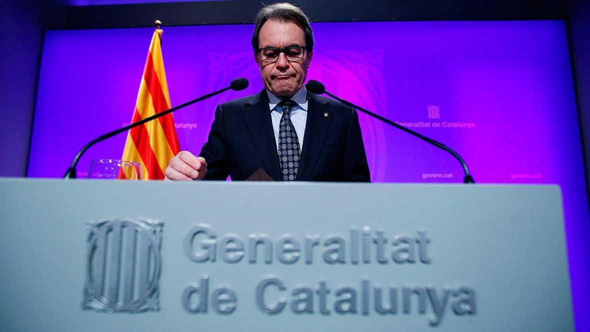 Artur Mas dice que firmará el lunes el decreto de convocatoria si no hay acuerdo