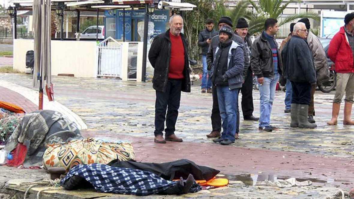 Mueren ahogadas al menos 21 personas en la costa de Turquía