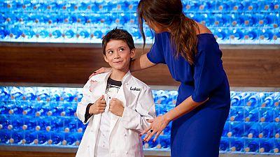 MasterChef Junior 3 - Lukas, el primero en vestir la chaquetilla