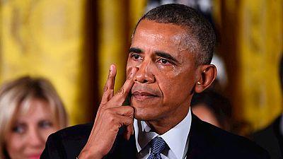 """Obama defiende la """"urgencia"""" del control de las armas de fuego"""