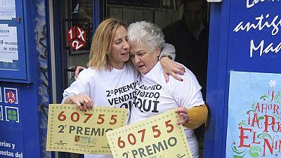 El segundo premio, el 60.755, se ha quedado �ntegramente en Madrid