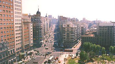 A vista de p�jaro - Madrid