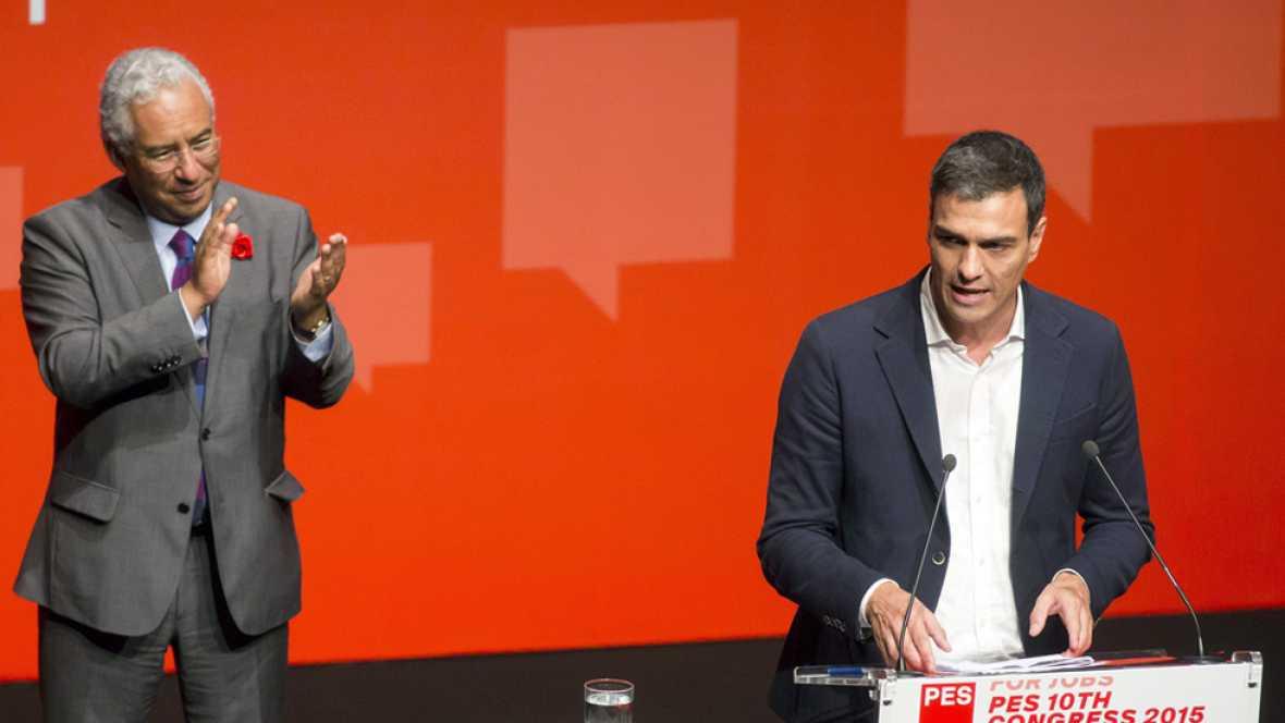 El líder del PSOE busca un 'pacto a la portuguesa' con las fuerzas de izquierda