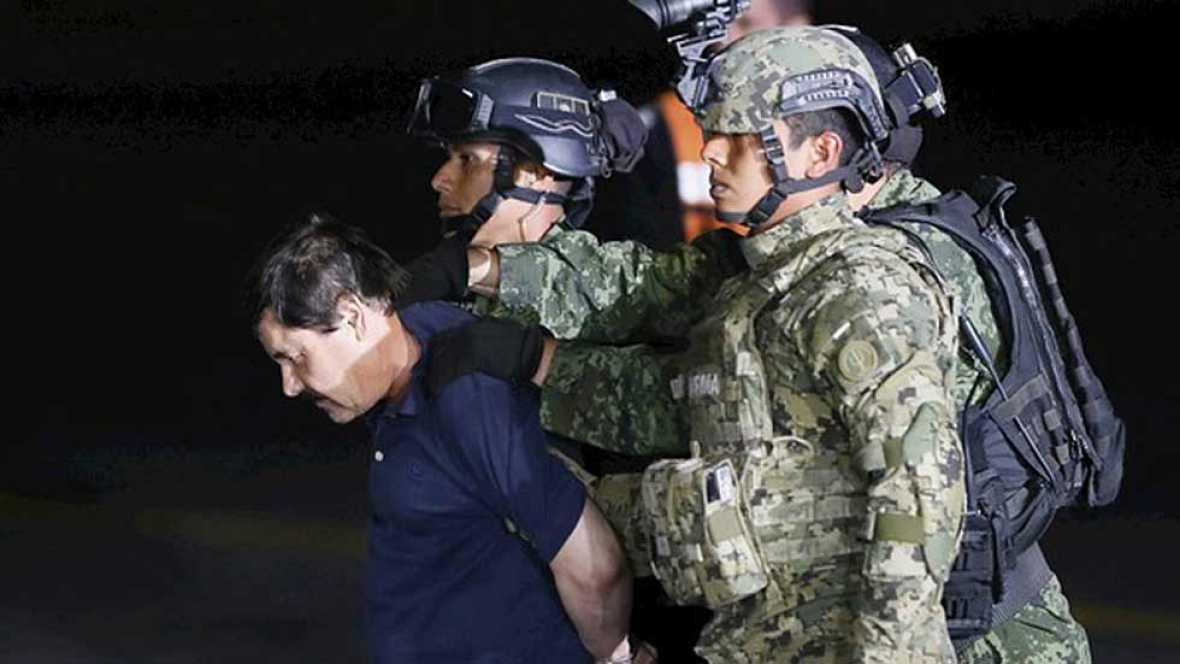 """""""El Chapo"""" ingresa en la misma cárcel mexicana de la que se fugó hace seis meses"""