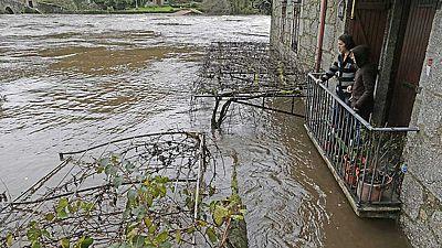 Dos borrascas mantienen a Galicia en alerta por intensas lluvias