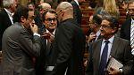 El acuerdo entre JxSí y la CUP desbloquea tres meses de negociaciones