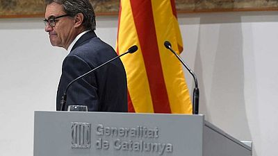 Artur Mas, un president marcado por el proceso soberanista, la disolución de CiU y el 'caso Pujol'