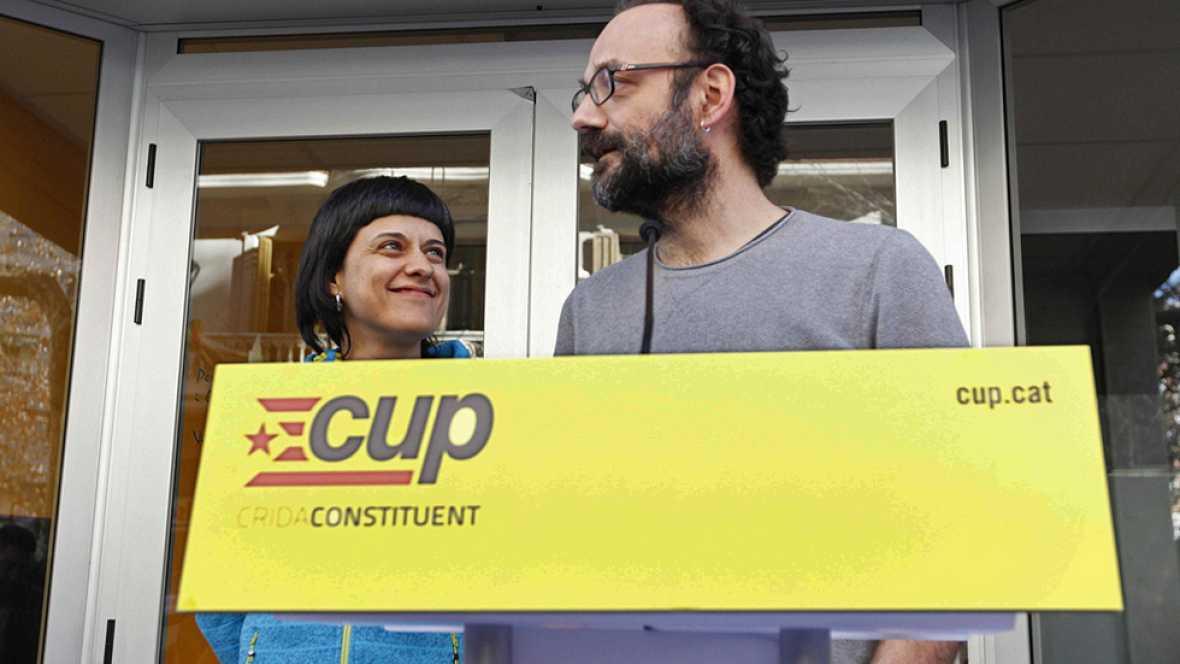 La dirección de la CUP ratifica el acuerdo con Junts pel sí