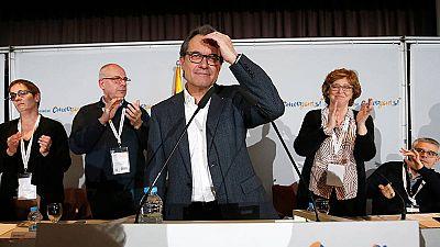 """Artur Mas reconoce que era un """"problema"""" en los últimos días de negociaciones"""