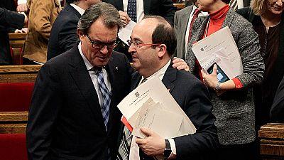 Discurso íntegro de Miquel Iceta durante la investidura de Carles Puigdemont como presidente de la Generalitat