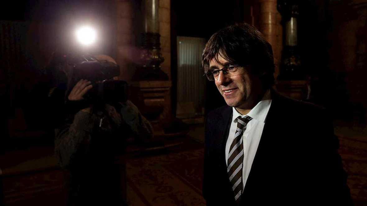 Puigdemont asume el programa de Mas con el objetivo de alcanzar la independencia de Cataluña