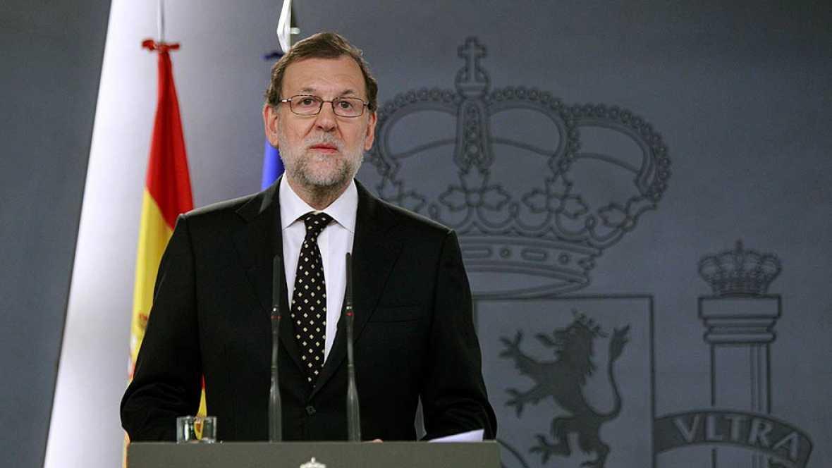 """Rajoy: """"Ni se va a abrir un proceso constituyente, ni se van a crear estructuras al margen de las legítimas"""""""