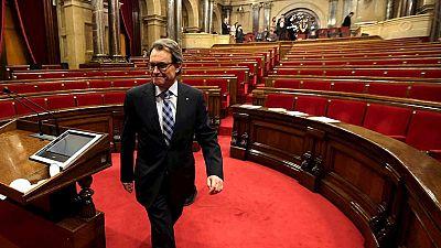 """Agradecimientos a  Mas fuera y dentro del Parlament por su """"dedicación"""" y su paso """"al lado"""""""