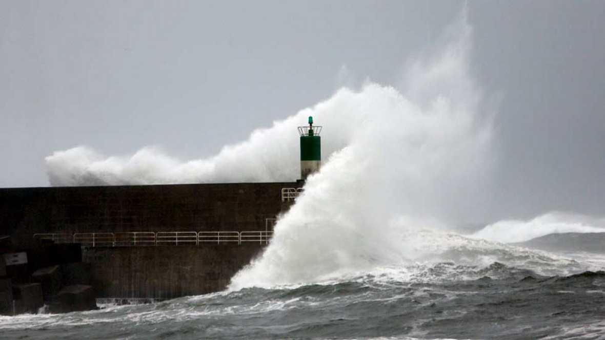 El temporal de lluvia y viento sigue haciendo estragos en Galicia