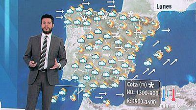 Tiempo adverso en toda España con fuertes vientos y precipitaciones