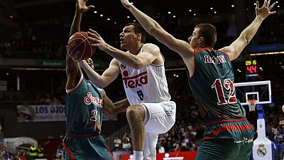 Real Madrid 107-83 Baloncesto Sevilla
