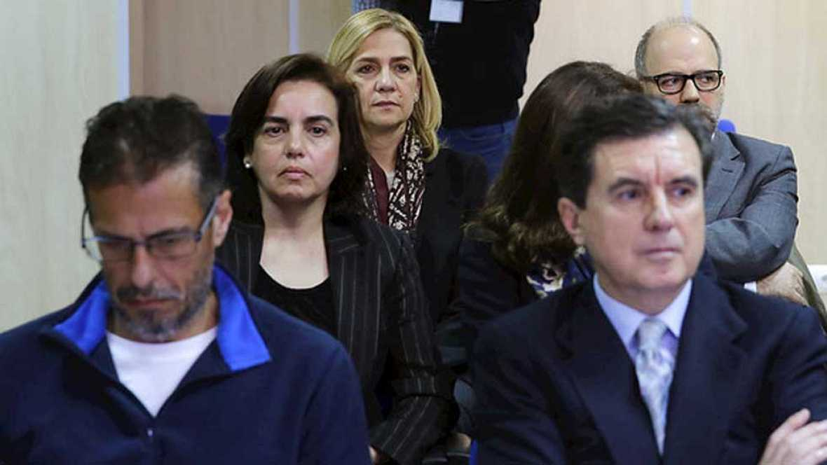Defensa, fiscalía y acusación particular piden que se aplique la llamada doctrina Botín para la Infanta