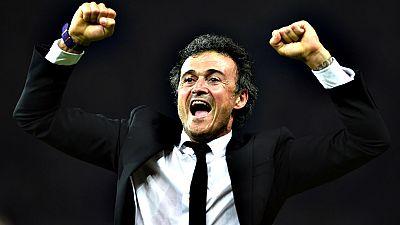El año del Barça también se ha reflejado en la elección de Luis Enrique Martínez como mejor entrenador. El técnico español, 'alérgico' a los premios, no ha viajado a Zúrich para recibir el galardón y ha sido recogido por Robert Fernández, el director