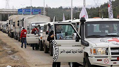 La ayuda humanitaria comienza a llegar a Madaya