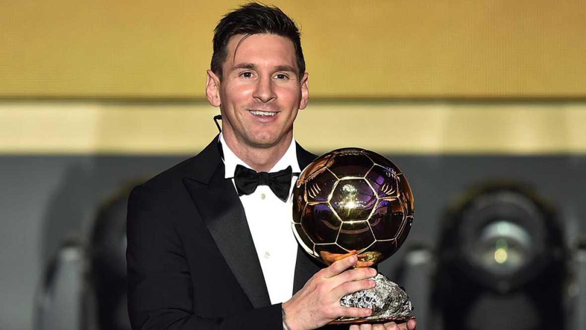 Entrevista a Leo Messi tras ganar el Balón de Oro