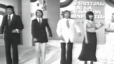 Final del 5º Festival de la Canción Infantil 1973