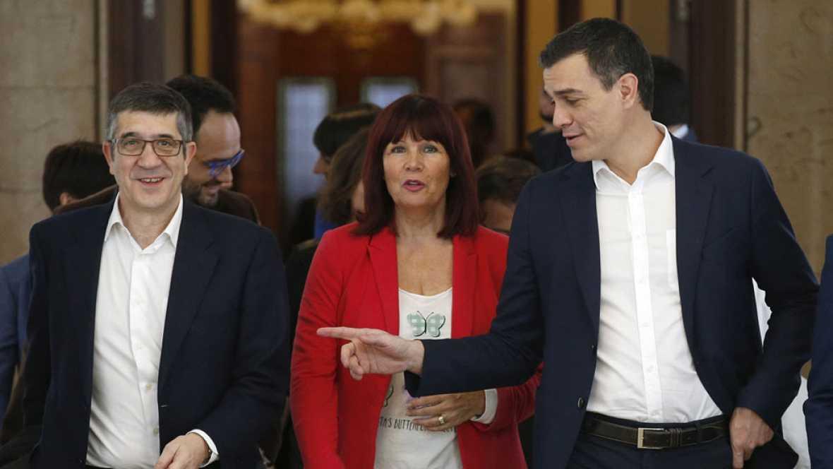 Patxi López presidirá el Congreso tras el pacto del PSOE con Ciudadanos