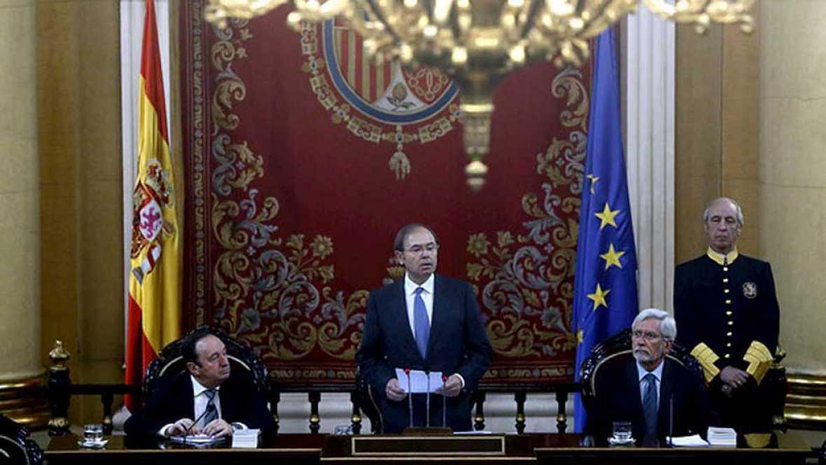 Pío García Escudero reelegido por mayoría absoluta como presidente del Senado