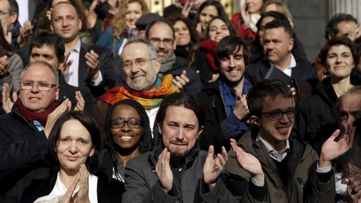 """Iglesias: """"Si alguien ha puesto tierra de por medio a la posibilidad de un cambio ha sido Pedro Sánchez"""""""