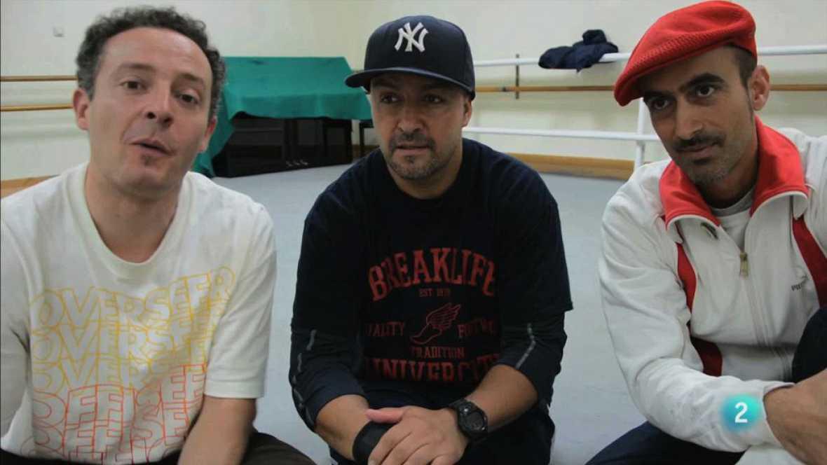 Ken Swift, con Bboy Manu y Kapi