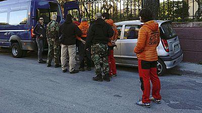 Tres bomberos españoles detenidos en Lesbos por tráfico de personas, a la espera de juicio rápido