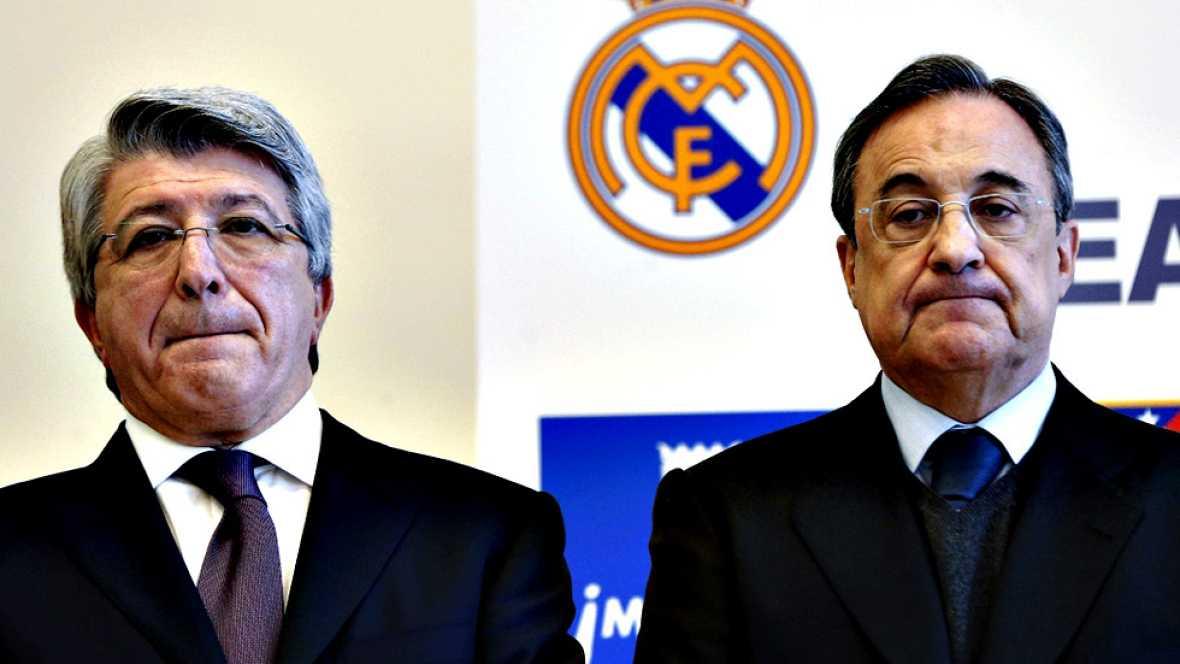 """El presidente del Atlético de Madrid, Enrique Cerezo, se ha referido la sanción de la FIFA al club rojiblanco, que no podrá fichar hasta el verano de 2017, como """"una injusticia grande"""" que van a """"recurrir sí o sí"""", aunque ha asegurado que cuentan con"""