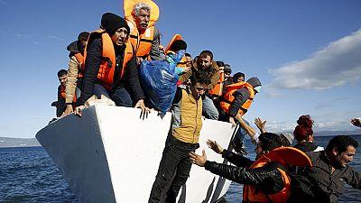 La situación de los refugiados en Lesbos