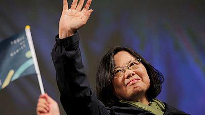 Tsai-Ing Wen se convierte en la primera presidenta de Taiwán