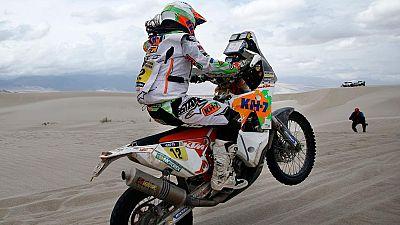 Los españoles mejor clasificados hablan del Dakar