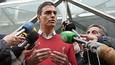 """Pedro Sánchez: """"Rajoy es el Red Bull de los independentistas"""""""